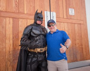 Batman & I - Keeping the city safe!